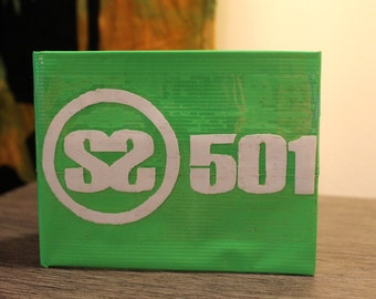 SS501 Kpop Duct Tape Wallet