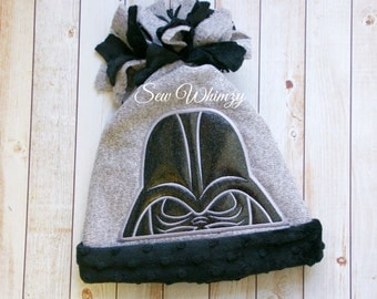 Star Villian Hat, Winter Fleece hat