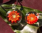 Heady Glass Pendant - Blown Glass Pendant - Glass Pendant - Glass Necklace Pendant - Anniversary Gift Girlfriend - Mothers Day Glass Jewelry