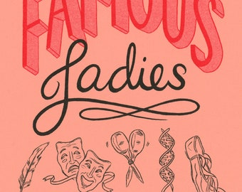 Famous Ladies Zine: Vol 2