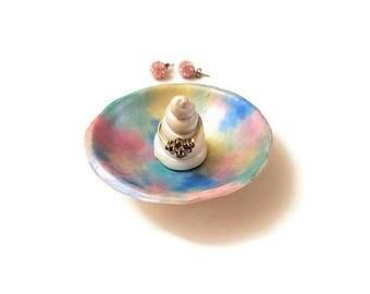 Unicorn Ring Holder, Unicorn Jewelry Dish, Unicorn Gift For Mom, Unicorn Ring Dish, Jewelry Organizer, Trinket Dish, Unicorn Gift Idea