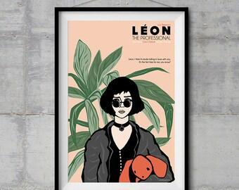 Leon the Professional - Mathilda Poster - Original Illustration
