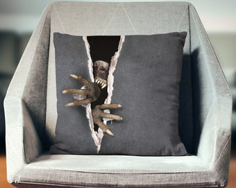 Spooky Decor | Halloween Props | Halloween Decorations | Creepy Decor | Creepy Pillow |  Halloween Pillow | Halloween Decor | Spooky Pillow