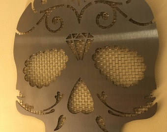 Sugar Skull Wall Piece - Jawless