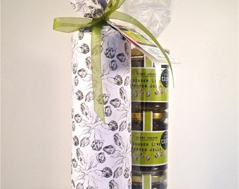 3 x GENNY GRAHAM Ginger Lime Pepper Jelly Gift Pack  (My Favourite)