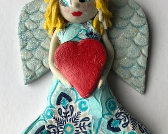 Polish salt dough angel