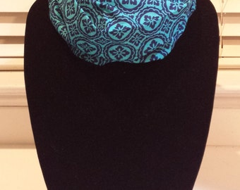 Blue / Turquoise Infinity Scarf