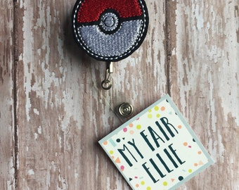 Pokemon Badge Reel - Pokemon Reel - Pokemon Reel - Badge Reel
