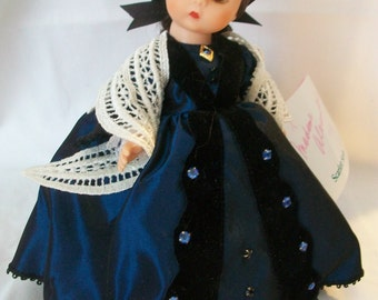 """Madame Alexander MRS. O'HARA 8"""" Doll with Box and Tag - Retired Gone with the Wind Doll, Rare, Vintage"""