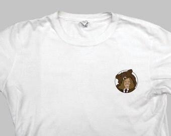 Workaholics Blake Bear Coat T Shirt