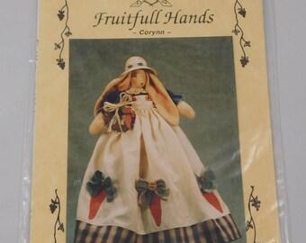 Bunny Sewing Pattern, Corynn, Fruitfull Hands, 1996