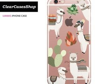 Cute iPhone 7 case, cute liamas iphone 7 case, Also Available for iPhone 7 Plus, iPhone 6, iPhone 6s Plus, iPhone 5/S/SE, S7 & S7 Edge