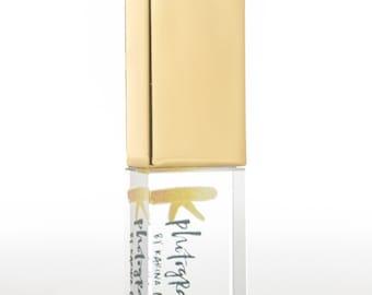 Gold Crystal USB stick 4GB 8GB 16GB Personalised Customised Logo printing flash drive newborn wedding photography packaging