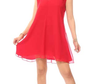 Reeda Red Dress