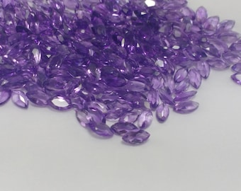 10% saleStunning AAQuality 20pcs Natural Amethyst 6x3 MM Pears Cut Loose Gemstone-Amethyst Pear Faceted Stone-Purple Amethyst Pear