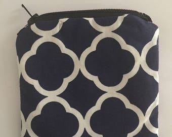 Navy Blue Coin Purse