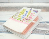 Wildflower Needle Book hand embroidery pattern pdf instant download