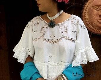 Frida Kahlo Wedding Dress, Mexican Wedding, Unique Wedding Dress, Alternative Bride, Bohemian Chic, OOAK Design