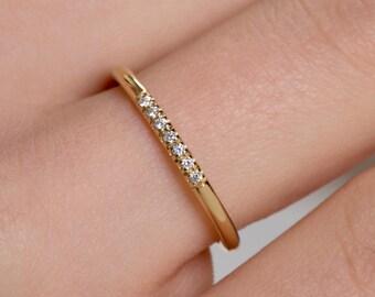 Diamond ring, Black diamond ring, Diamond eternity ring,  Engagement ring , Half eternity ring,  Rose diamond ring, Diamonds, Black diamonds
