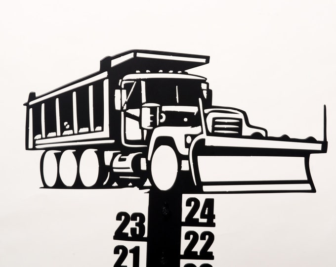 Plow Truck Snowmeter