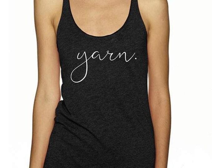 Yarn Tank - Vintage Black Yarn Women's Tank