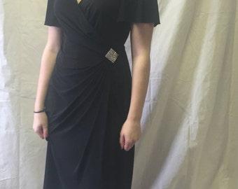 Vintage Black Rimini Saks Fifth Avenue Dress