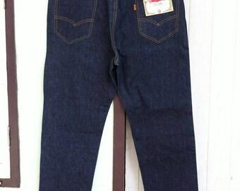Vintage Levi's 606 Big E 36 x 29.5 Deadstock Button # 69