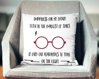 Hogwarts Decor | Harry Potter Decor | Hogwarts Gift | Harry Potter Pillowcase | Harry Potter Pillow | Harry Potter Gift