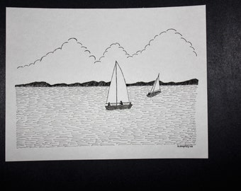 Original Pen & Ink