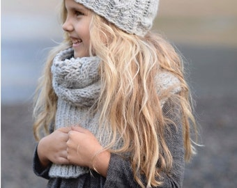 Knitting PATTERN-The Snowbound (Toddler, Child, Adult sizes)