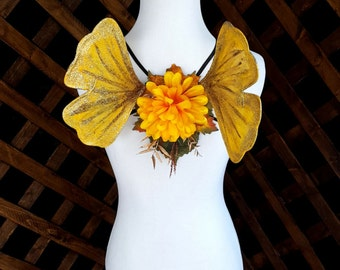 Fall Ginkgo Fairy Wings