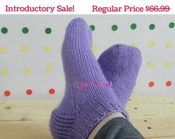 Hand Knit Socks - Boot Socks - Custom Socks - Bed Socks - Knit Socks - Knitted Socks - Hand Knitted Socks - Socks - Womens Socks