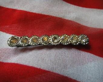 Vintage Hair Barrette Hair Clip Accessory  hair clip barette