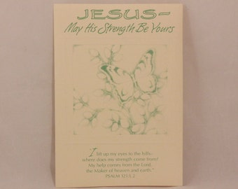 NEW! Vintage Religious Encouragement by Dayspring. Single Greeting Card and Envelope.