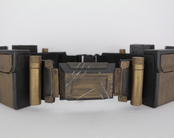 Batman Dawn of Justice League costume prop replica tribute belt! Cosplay or collectable Justice league belt prop