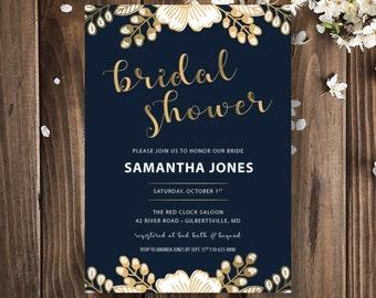 Bridal Shower Invitation | Bridal Shower Invitation Printable | Boho Chic Bridal Shower Invitation | INSTANT DOWNLOAD