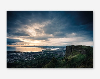 Sunset from Cave Hill, Belfast