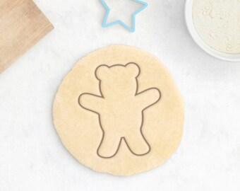 Teddy Bear Cookie Cutter   Baby Shower Cookie Cutter Baby Cookie Cutter  Animal Cookie Cutter Cute