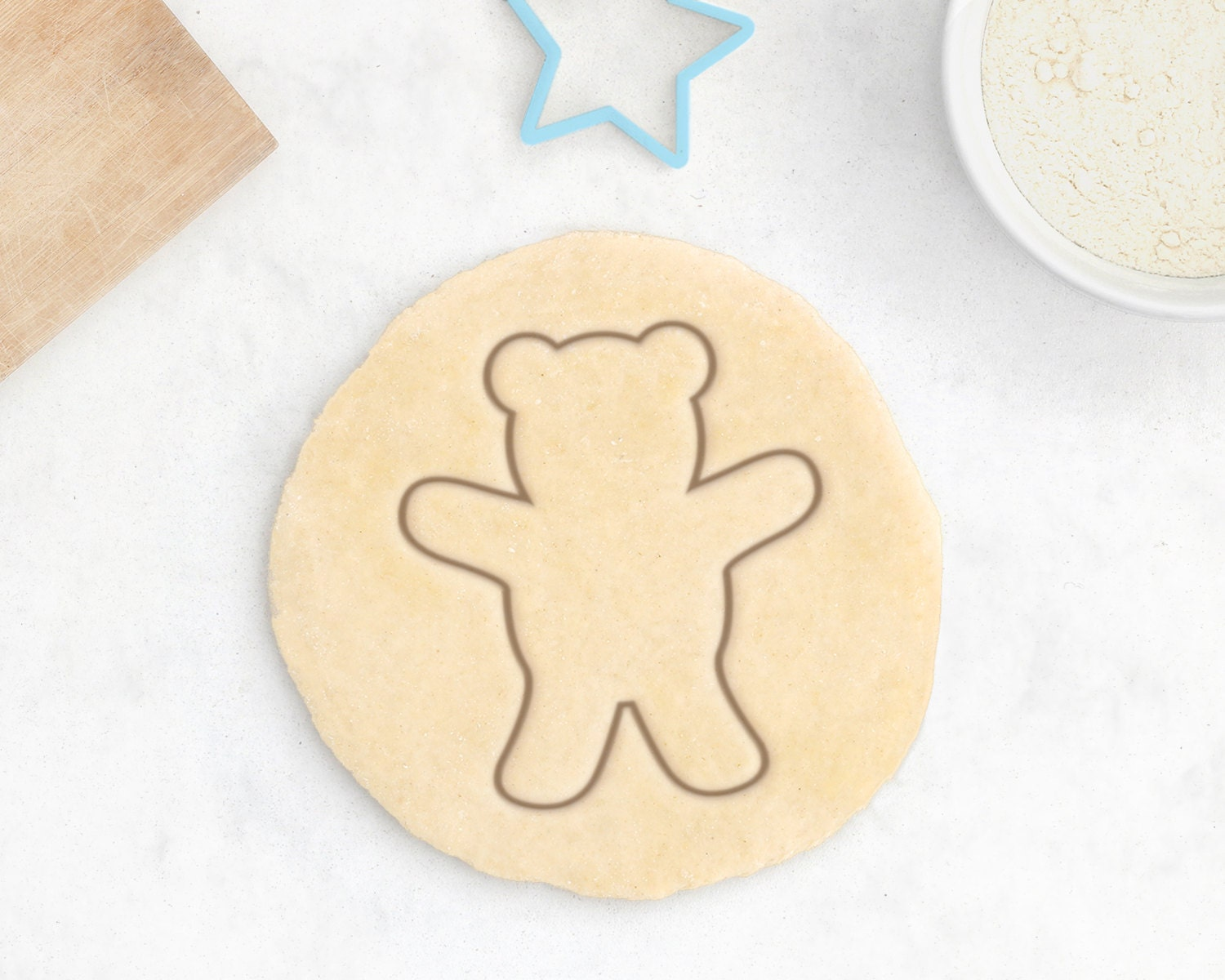 teddy bear cookie cutter baby shower cookie cutter baby