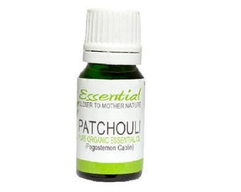 Patchouli Essential Oil (Organic) Pure & Natural Aromatherapy