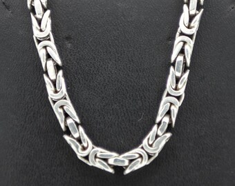 A Heavy  Byzantine Silver Chain   SKU206