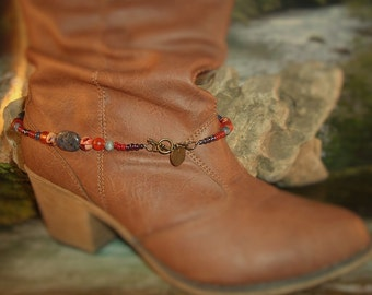 Beaded Boot Jewelry/Choker