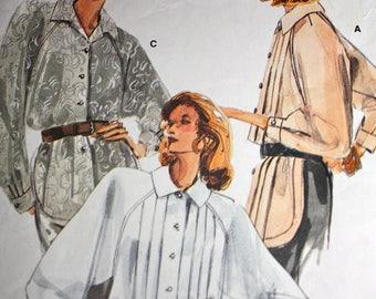 Beautiful Pleated Blouse Pattern---Vogue 9811---Size 16 Bust 38