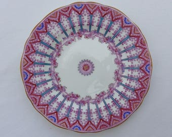 Minton ironstone plate. Antique English ironstone Minton plate.