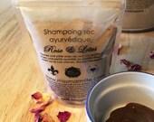 Shampoing sec aux plantes ayurvédiques Rose et Lotus  Miss Marmite