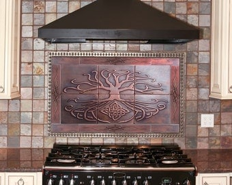 Kitchen tiles, SET OF 18 TILES, artistic celtic tiles,one of a kind tiles, Individual tiles, feature tiles