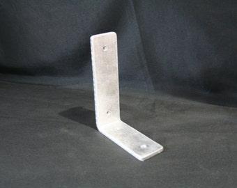 Rust Proof Shelf Brackets, aluminum brackets for floating shelf, rust free hardware, nautical hardware, aluminum shelf bracket, no rust