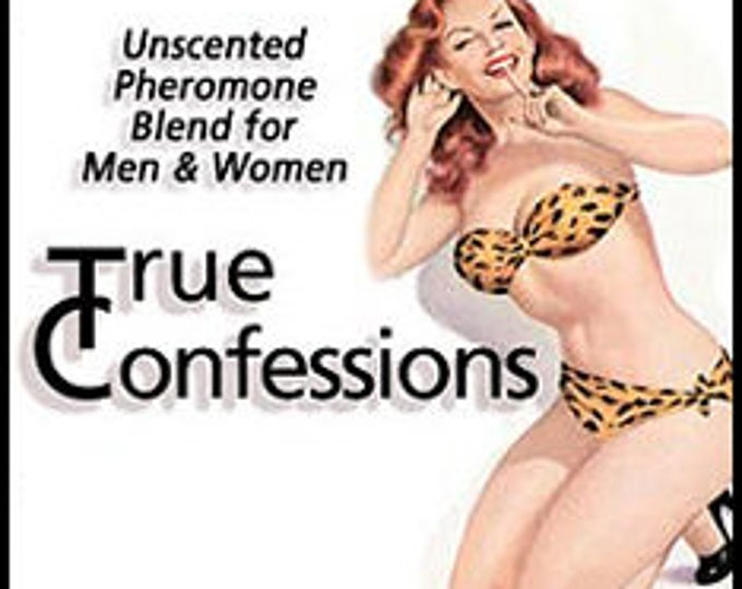 SALE! True Confessions - UNscented Pheromone Blend - for Men and Women -  Love Potion Magickal Perfumerie