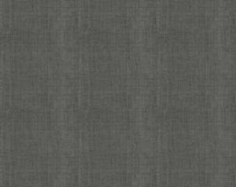 1/2 Yard Linen by Sue Daley Designs for penny Rose Fabrics-LN300- Dark Gray
