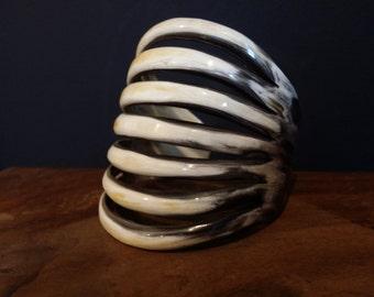 Horn bracelet from Benin